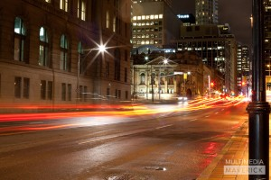 Toronto Night Traffic